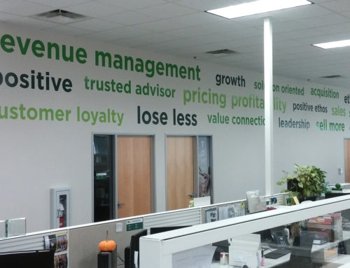 Waste Management Vinyl Wall Graphics