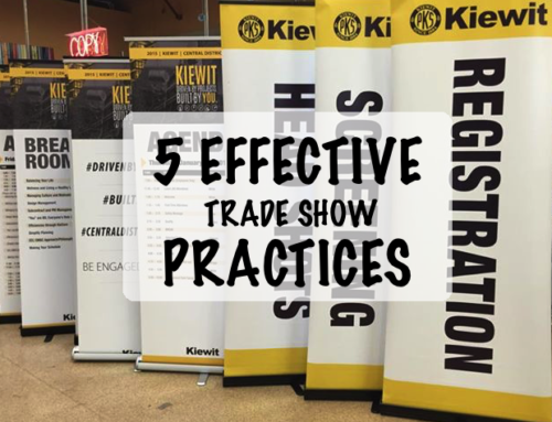 5 Effective Trade Show Practices