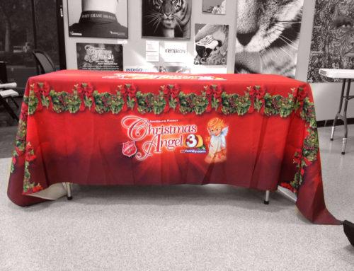 Advertise with Table Cloth