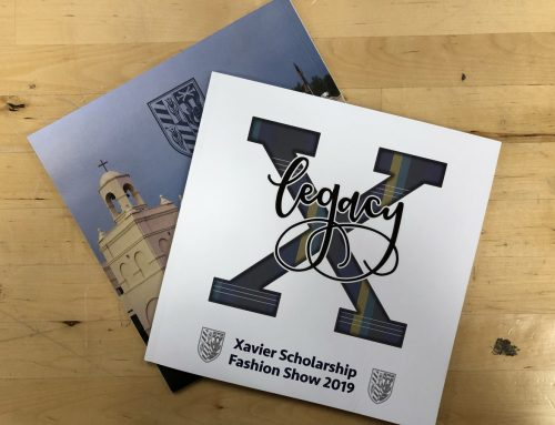 Xavier Scholarship fashion Show book
